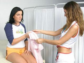 flirtating nurse videos
