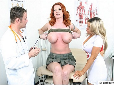 big tits exam